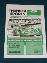 Brands Hatch 1984 April 23 THUNDERSPORTS (rd.2)